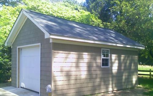 12x20 Single Car Garage for gardening in York County