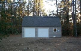 Garage 24x24 with windows