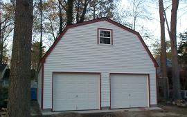 24x24 Gable roof 2 car garages
