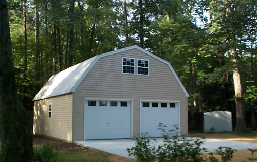 24x30 two story custom build garage