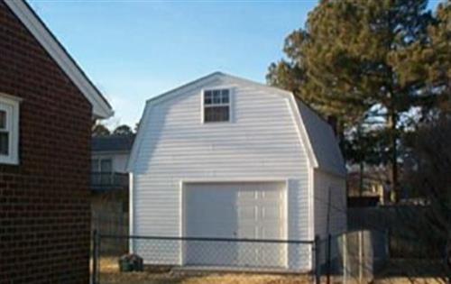 Custom 10x7 built garage with barn plans for 10x7 garage door