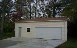 30x30 architectected steel garage
