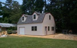24x30 Garage with dormers