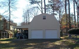 2 story Garage with architectural shingles
