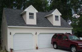36x30 Large garage with 2 dormers