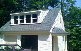 Garage 1 and half with 10 12 pitch roof