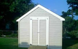 Shed 12x16 with A roof and double outswing doors