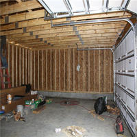 Garage with studs showing in York County