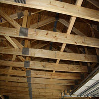 Garage with trusses in York County