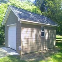 12x20 Single Car Garage in York County