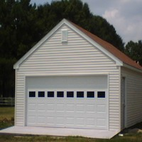 24x24 One Story Garage in Gloucester