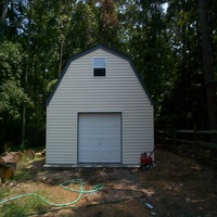 16x20 Custom Built Barn in Hampton