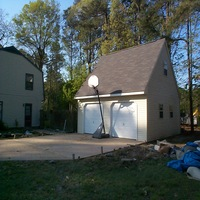 24x24 A Frame Garage in York County