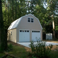 24x30 Two Story Garage in Newport News