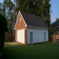 24x24 Custom Garage in Suffolk