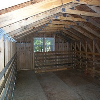 2 story barn with OSB in York County
