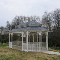 20x40 Double pagoda Gazebo in Poquoson